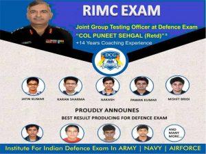 RIMC Exam Coaching